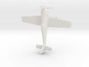1:285 Fw190 A-8 in White Natural Versatile Plastic