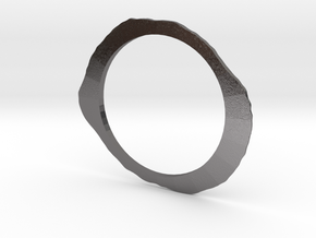 Total Eclipse Pendant in Polished Nickel Steel