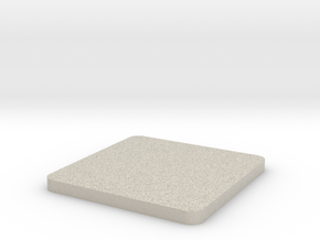 Customizable coaster in Natural Sandstone