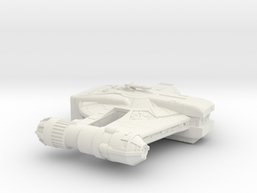 YT 2400 Freighter (A)  in White Natural Versatile Plastic