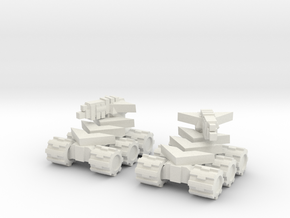 RB Scaled Up Mini Tank Pair in White Natural Versatile Plastic