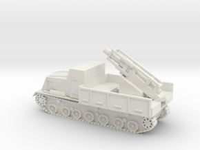 Japanese Ha-To 300mm Mortar Carrier 1/72 - 20mm in White Strong & Flexible