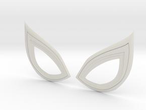Insomniac Spiderman Lenses (closed) in White Natural Versatile Plastic