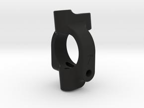 Carisma 4XS C-Hub 7 Degree (RIGHT) in Black Natural Versatile Plastic
