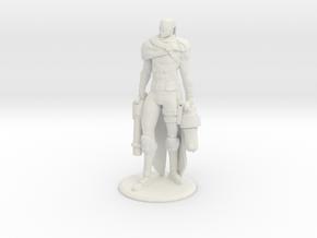 Hired Gun Lucian in White Natural Versatile Plastic