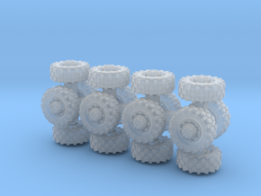 7mm diameter wheels x16 in Smoothest Fine Detail Plastic