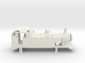 7mm - LB&SCR E2  -  EXTENDED TANKS - Body (WSF) in White Strong & Flexible