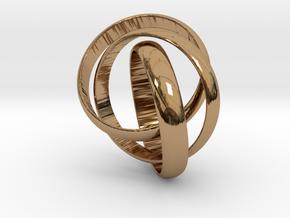 ringception in Polished Brass (Interlocking Parts): 5 / 49