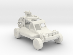 Advance Light Strike Vehicle v1  1:220 scale in White Natural Versatile Plastic
