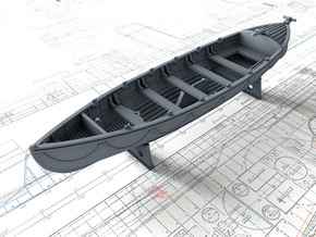 1/144 Royal Navy 27ft Whaler in Smooth Fine Detail Plastic