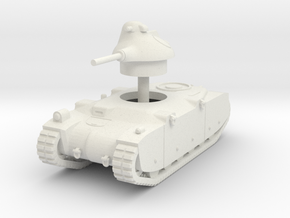 1/87 (HO) G1R French tank in White Natural Versatile Plastic