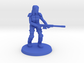 Raider Veruca  in Blue Processed Versatile Plastic