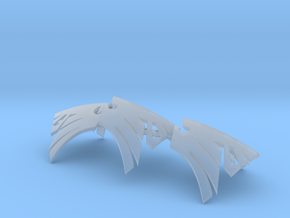 Space Ravens Icons for Gothic Jetbikes (x3) in Smooth Fine Detail Plastic