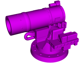 AN-SEQ-3 [XN-1] LaWS (Laser Weapon System) in White Natural Versatile Plastic: Small
