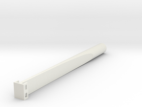 "Saflex Large Plus - .524"" Socket in White Natural Versatile Plastic"