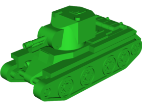 BT-42 Assault Gun in White Natural Versatile Plastic: Small