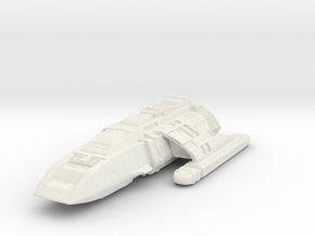 "Danube Class  Runabout 2.6"" in White Natural Versatile Plastic"