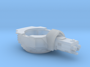 Heavy Transport Gun Turret in Frosted Ultra Detail