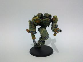 Mech suit with twin weapons. (8) in Full Color Sandstone