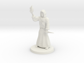 Dark Necromancer in White Natural Versatile Plastic