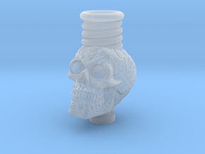 Skull 510 Drip Tip in Smooth Fine Detail Plastic
