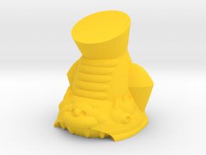 Shachihoko in Yellow Processed Versatile Plastic