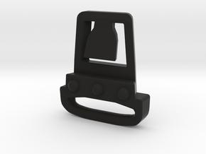 Team Wendy Face Mask Mount in Black Natural Versatile Plastic