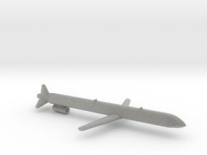 Kh-101 Cruise Missile in Metallic Plastic: Small
