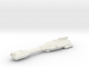 3788 Scale Trobrin Patroller MGL in White Natural Versatile Plastic