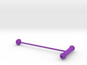 Cork Seeker II in Purple Processed Versatile Plastic