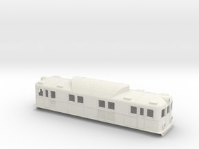 Swedish SJ electric locomotive type Pa - H0-scale in White Natural Versatile Plastic