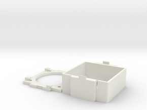 Apple IIGS Fan Shroud in White Natural Versatile Plastic