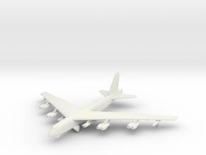 B-52H w/gear in White Natural Versatile Plastic: 1:500