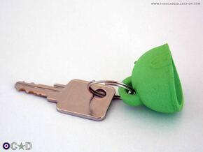 OCAD MK6/MK6A HELMET KEYRING HANGER in Green Processed Versatile Plastic