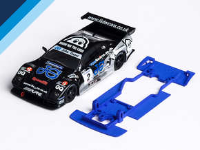 1/32 Fly Lister Storm Chassis for Slot.it AW pod in Blue Processed Versatile Plastic