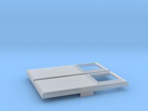 E Series Winterization Hatch  (HO - 1:87) 2X in Smooth Fine Detail Plastic