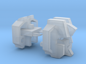 Seeker Head Combiner Version in Smooth Fine Detail Plastic