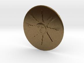 Sunlight Belt Buckle in Natural Bronze