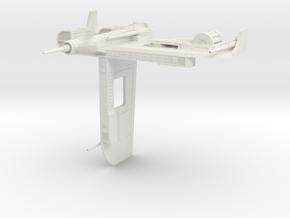 Sledgehammer Republic Bomber  (1/270) in White Natural Versatile Plastic