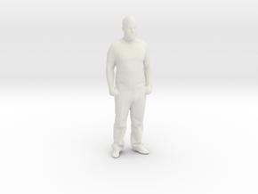 Printle C Homme 056 - 1/32 - wob in White Natural Versatile Plastic
