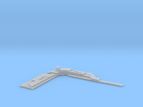Airport Terminal 1/1250 in Smooth Fine Detail Plastic
