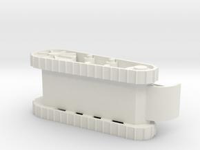 Light Tank in White Natural Versatile Plastic
