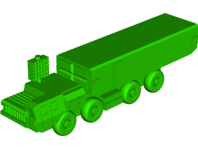 S-300PM [54K6] Command Vehicle in White Natural Versatile Plastic: Small