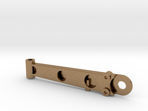 Lower Control Arm Assembly - Right in Natural Brass