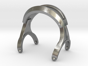 Pocket full headphones -(Main Frame) in Natural Silver