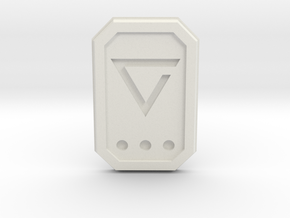 The witcher: axii glyph in White Natural Versatile Plastic