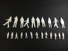 People 1:100 in White Natural Versatile Plastic