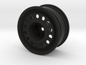 "1.9"" Steelie Wheel (26mm Wide / 6mm offset) in Black Natural Versatile Plastic"