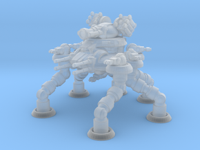 Six Leged Bastion Mech in Smooth Fine Detail Plastic
