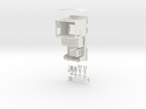 Nitro Nobel Simplex loco in White Natural Versatile Plastic: 1:35
